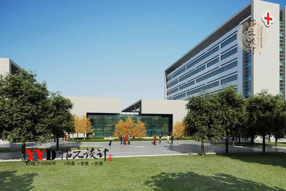 5-21现代医院医疗中心建筑外观.jpg